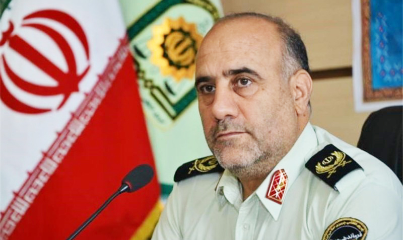رییس پلیس تهران افزایش