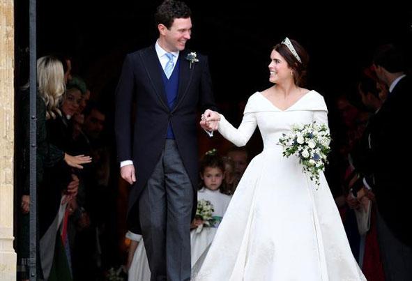 (تصاویر) دومین ازدواج خاندان سلطنتی انگلستان در سال 2018