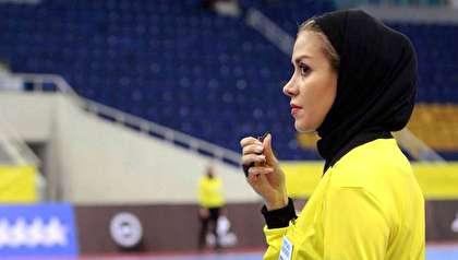 درخشش گلاره ناظمی داور زن ایرانی در آرژانتین