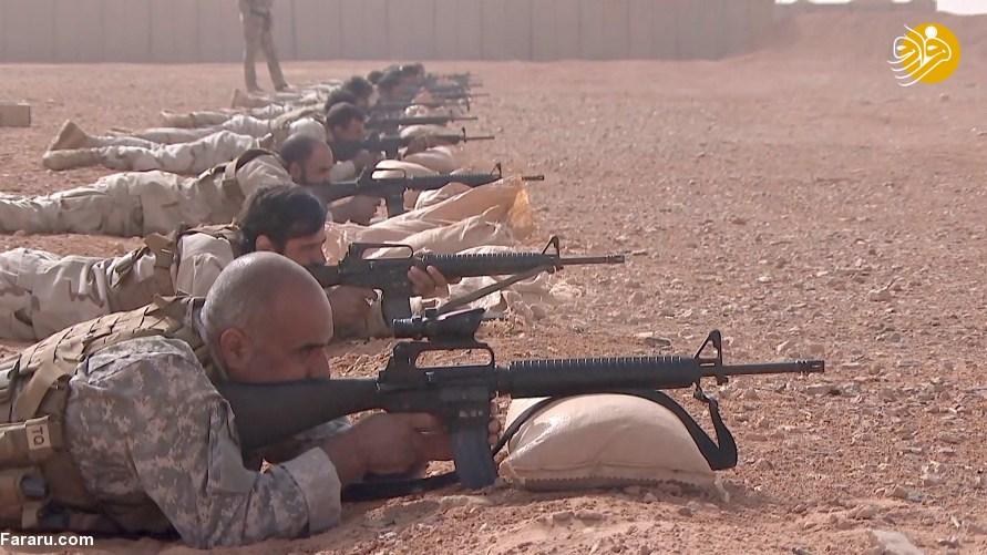(تصاویر) انتشار نخستین تصاویر از درون پایگاه ضدایرانی آمریکا در سوریه