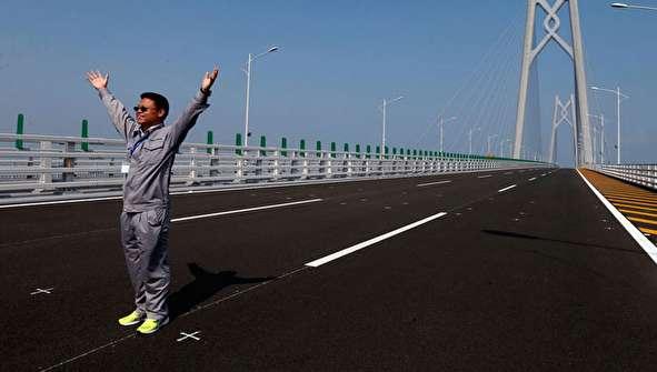 (تصاویر) افتتاح طولانیترین پل جهان