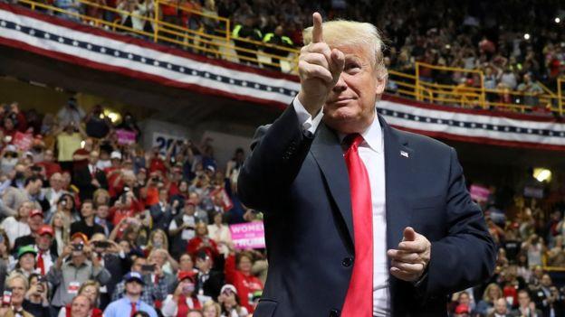 جنجال تبلیغ انتخاباتی ترامپ