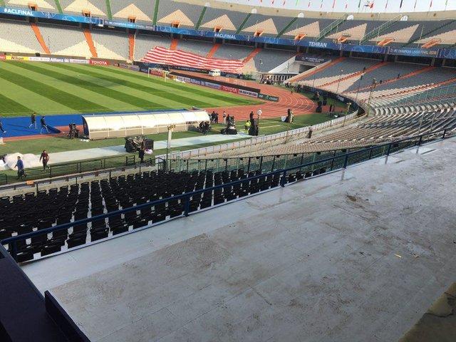 (تصاویر) چهره جدید ورزشگاه آزادی