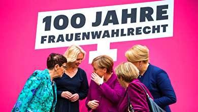 (تصاویر) یک تجمع زنانه در آلمان