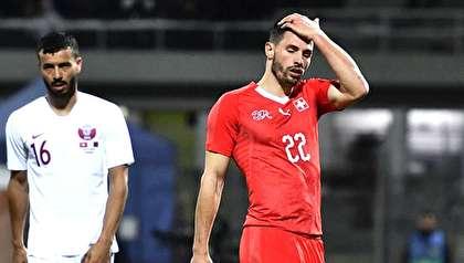 (تصاویر) شگفتیسازی بازیکنان قطر مقابل سوئیس