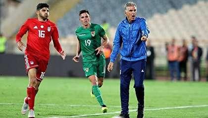 ترکیب تیم ملی ایران مقابل ترینیداد و توباگو