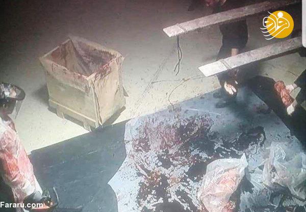 (+18) اولین تصاویر از لحظه تکه تکه کردن جسد جمال خاشقجی