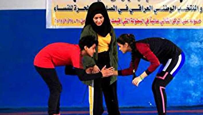 (تصاویر) ورزش جدید در میان زنان عراقی