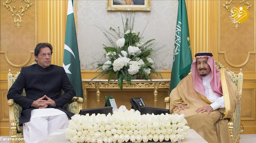 میانجیگری عمران خان بین ایران و عربستان