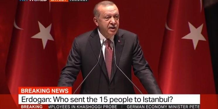حمله دوباره اردوغان به عربستان