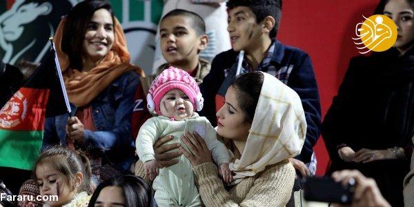 (تصاویر) زنان در ورزشگاه کابل