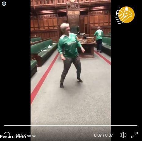 (ویدیو) وقتی زنان در پارلمان بریتانیا فوتبال بازی میکنند!
