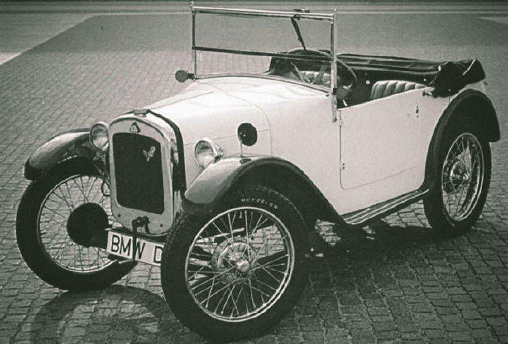 (تصویر) اولین مدل ماشین بیامو