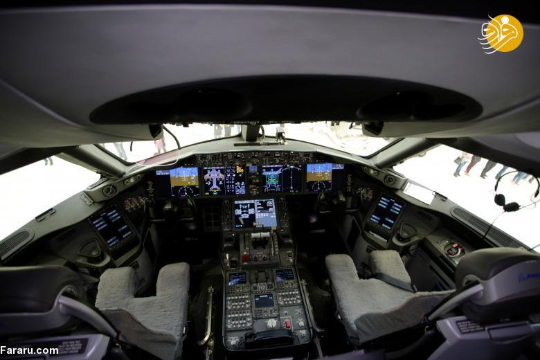 (تصاویر) هواپیمای فروشی رئیس جمهور مکزیک!