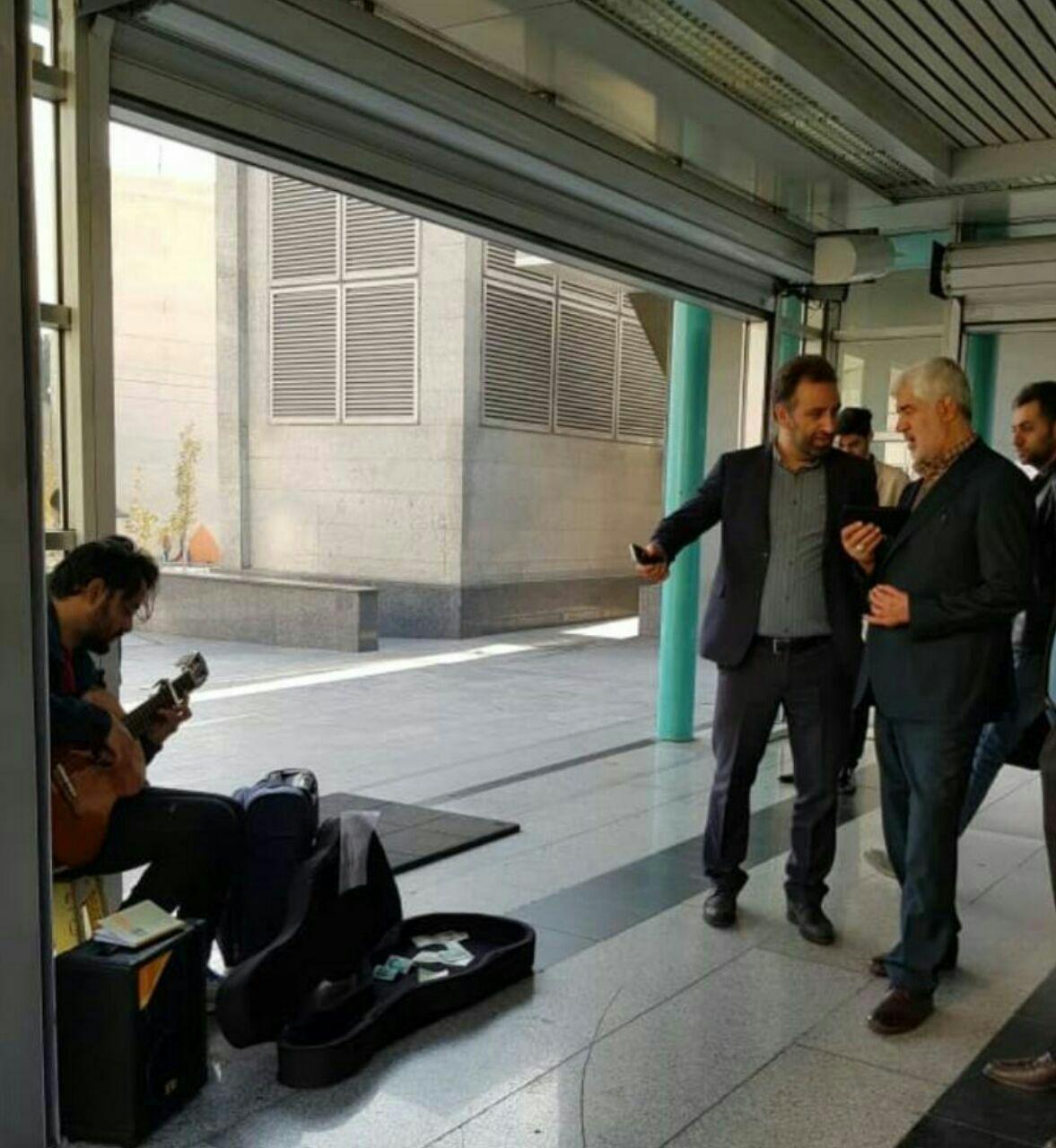 خاطره نگاری جالب معاون شهردار از شنیدن موسیقی در مترو