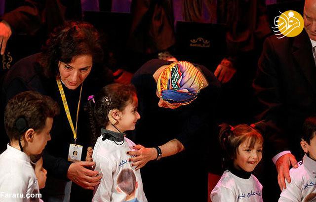 جدیدترین تصاویر از اسما اسد پس از ابتلا به سرطان