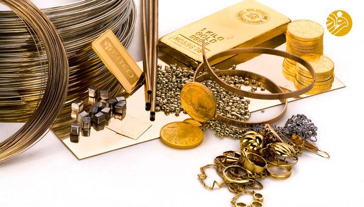 قیمت طلا و سکه در بازار امروز دوشنبه 19 آذر 97