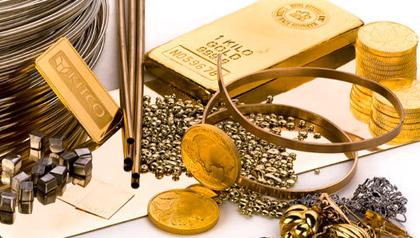 نرخ طلا و سکه در بازار ۲۲ آذر ۱۳۹۷
