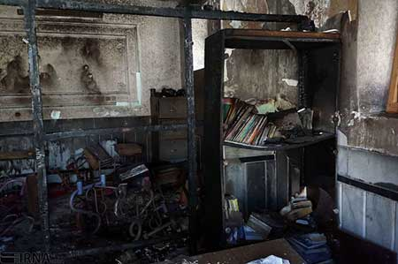 سومین دانش آموز حادثه آتشسوزی زاهدان هم فوت کرد