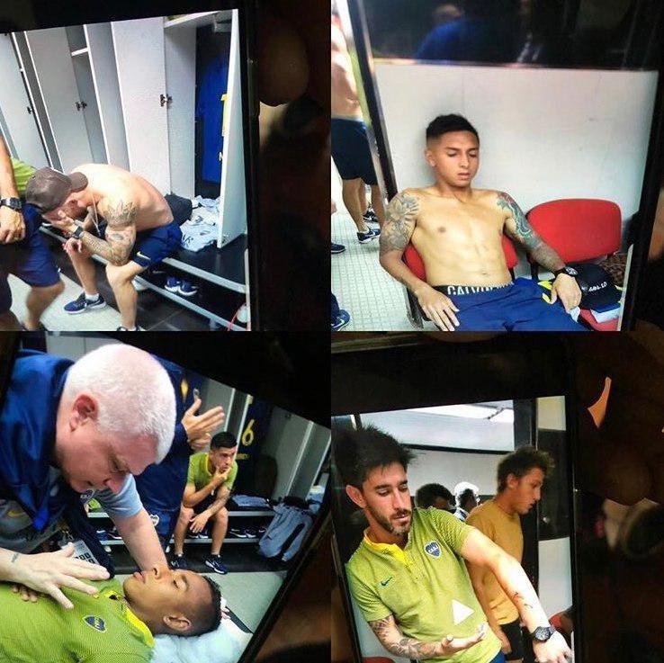 (تصویر) حمله هواداران ریورپلاته به اتوبوس بوکا؛ فینال به تعویق افتاد!