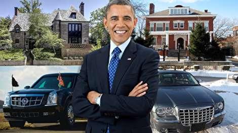 رازهای شنیدنی از ثروت اوباما