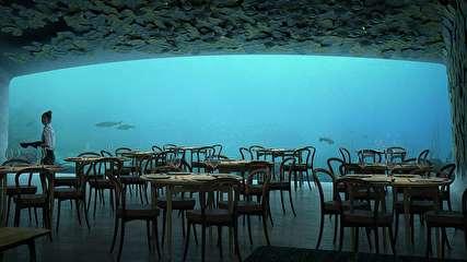 نخستین رستوران زیردریایی در اروپا