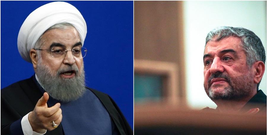 فرمانده کل سپاه پاسخ روحانی را داد: تهمت نزنید