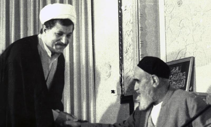 ماجرای جالب عیدیگرفتن هاشمیرفسنجانی از امام