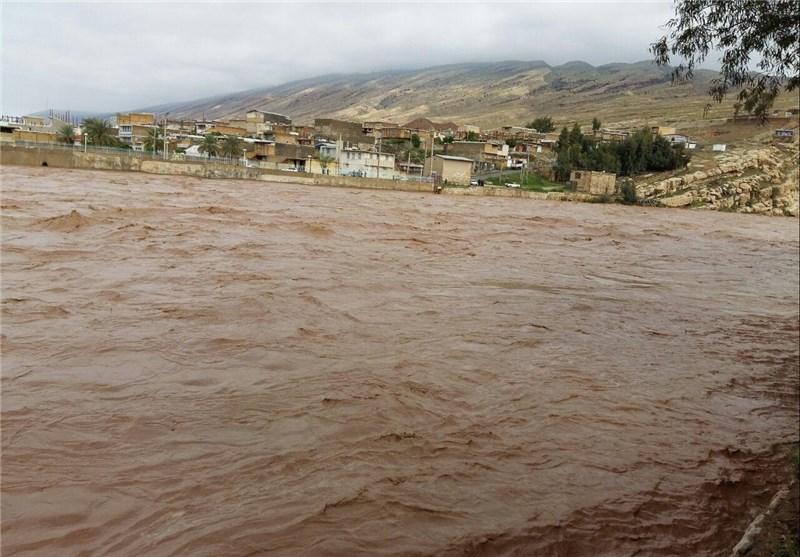 اوضاع وحشتناک سیلاب در ۳ شهر لرستان