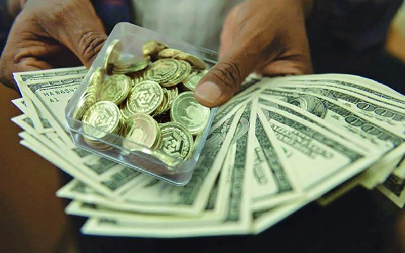 دلار بیشتر بالا رفت یا سکه؟