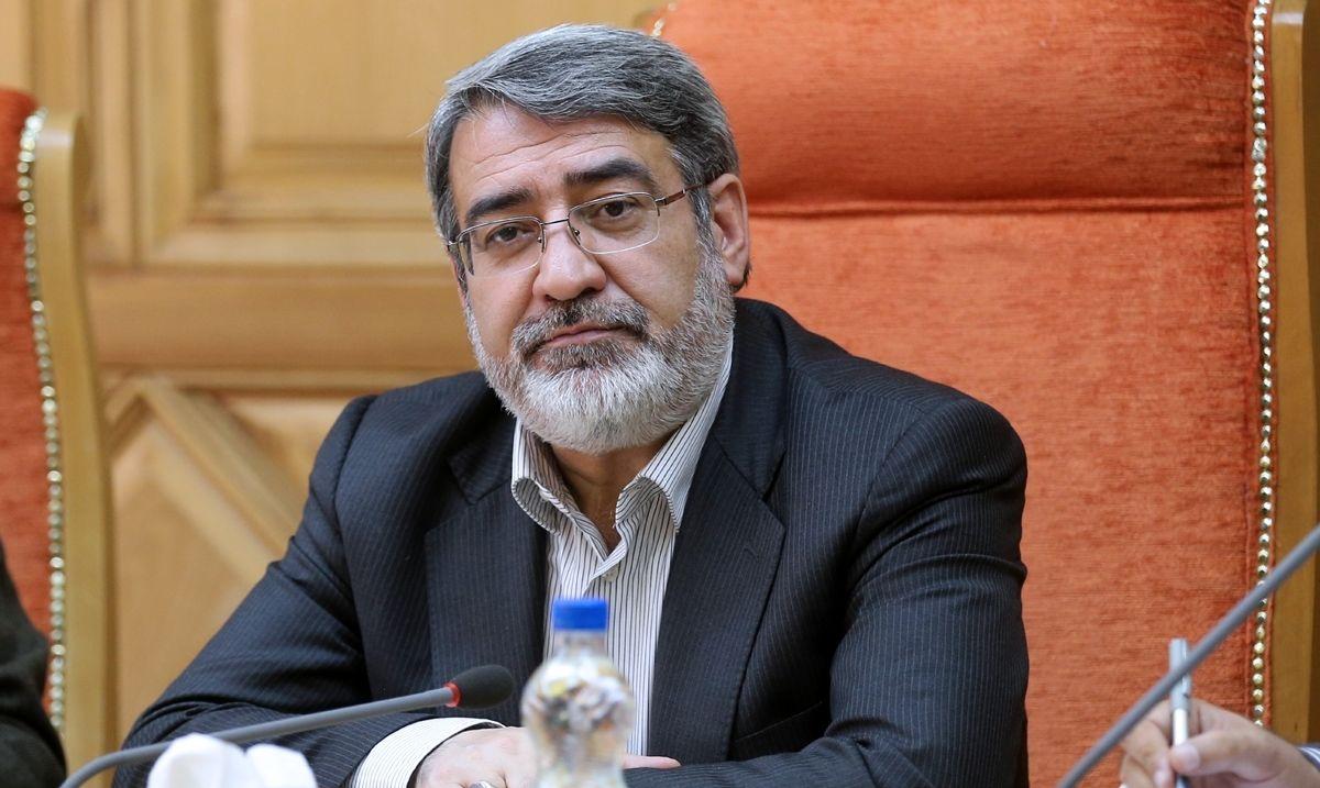 وزیر کشور: وضعیت شهر اهواز هیچگونه جای نگرانی ندارد