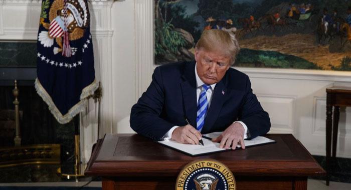 آمریکا رسما نام سپاه پاسداران را در لیست ترویستی خود قرار داد