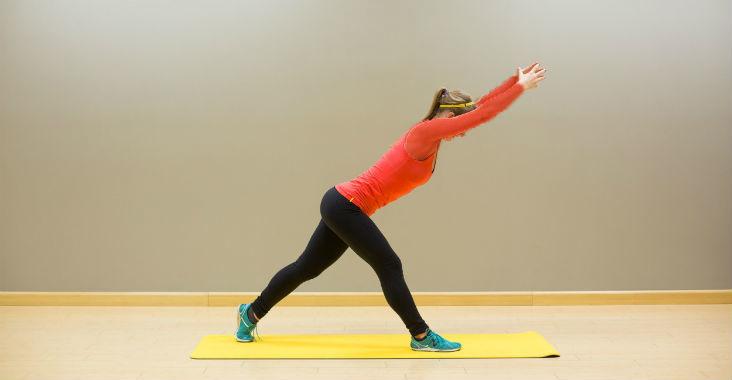 تسکین حرکت ساده برای تسکین کمر درد