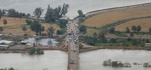 از اعلام محل اسکان اضطراری تا احتمال پایان سال تحصیلی؛ گزارشی از بحران سیل در خوزستان