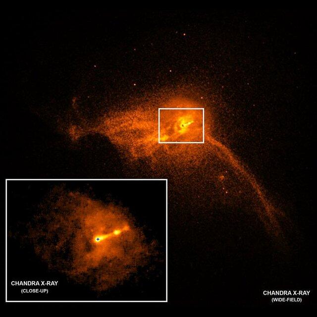 ثبت اولین تصویر از یک سیاهچاله فضایی
