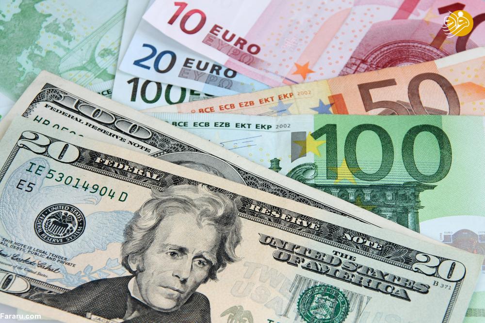 قیمت دلار و یورو در بازار امروز پنجشنبه ۲۲ فروردین