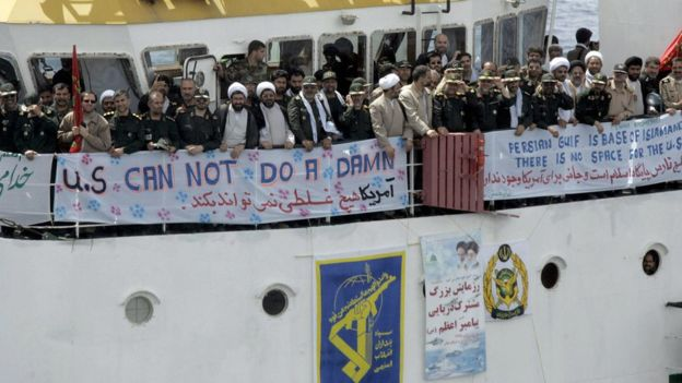 مقابله با اقدام آمریکا علیه سپاه؛ ایران تنگه هرمز را میبندد؟