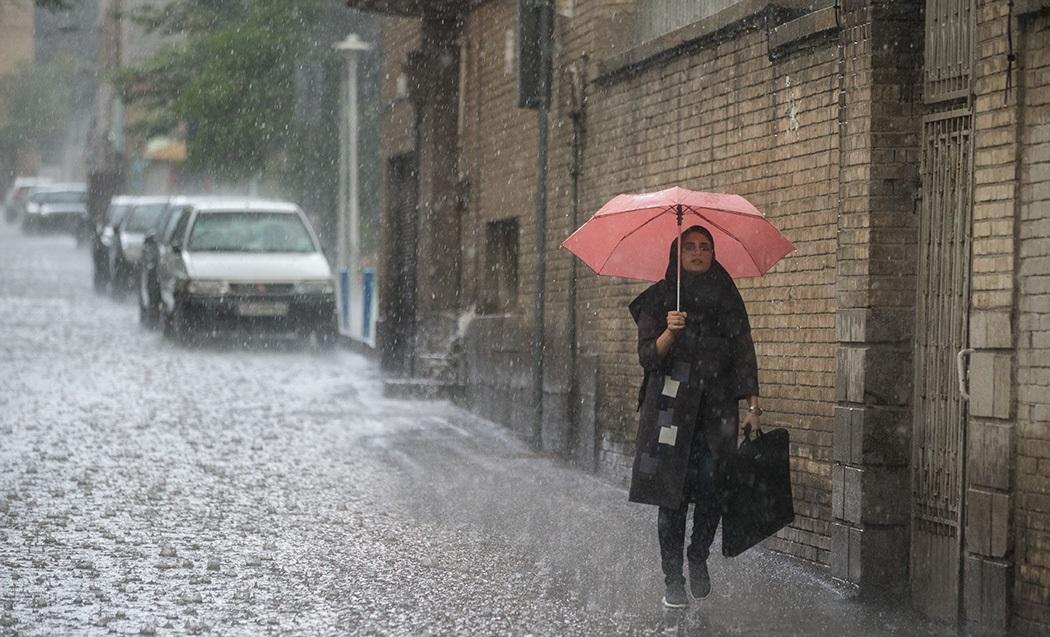 بارش شدید باران در ۷ استان