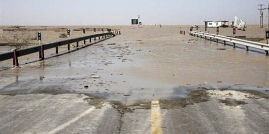 جاده کمربندی غرب اهواز مسدود شد