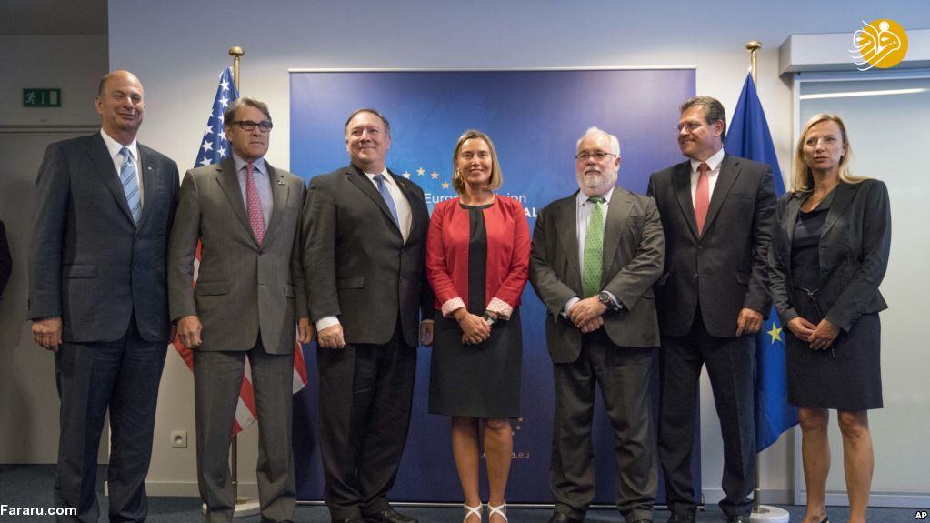 سفیر آمریکا در اتحادیه اروپا: اس پی وی یک