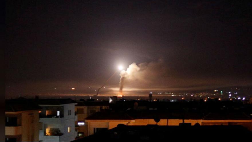 ادعای حمله موشکی اسرائیل به «مرکز توسعه موشکی» ایران در سوریه
