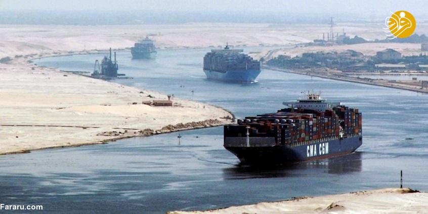 جلوگیری مصر از عبور نفت ایران از کانال سوئز به سوریه