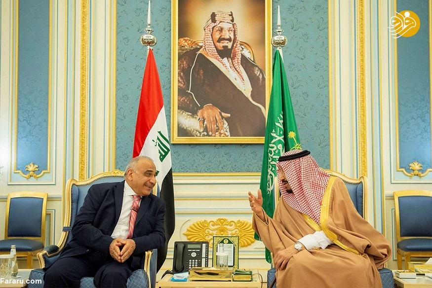 نخست وزیر عراق در عربستان؛ نزدیکی بیسابقه دو کشور