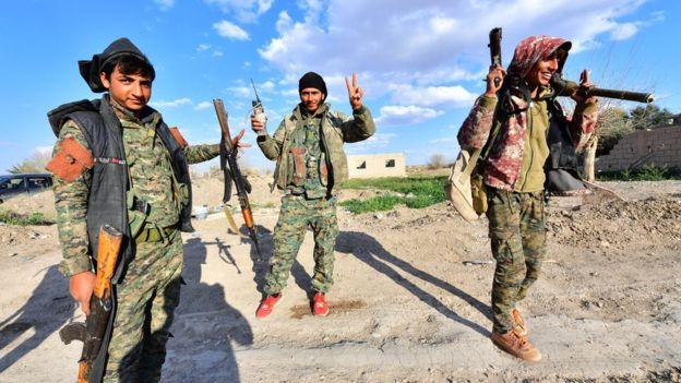 اعلام شکست کامل داعش در سوریه از سوی نیروهای سوریه دموکراتیک