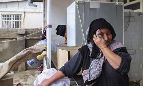 (تصاویر) خسارت ویرانگر سیل در گنبد کاووس