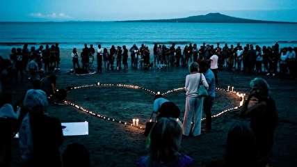 مراسم بزرگداشت قربانیان حملۀ تروریستی در نیوزیلند
