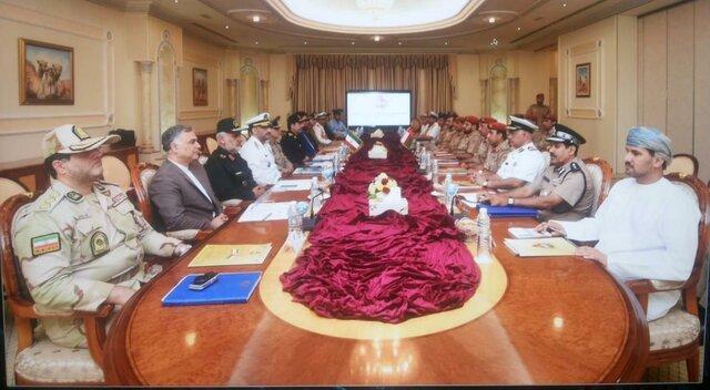 امضای یادداشت تفاهمنامه همکاریهای نظامی بین ایران و عمان