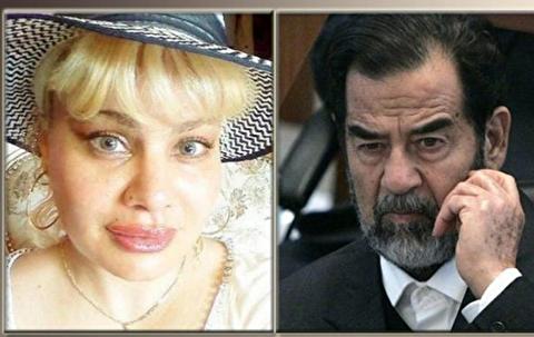 (تصاویر) پیدا شدن یک دختر جدید برای صدام حسین