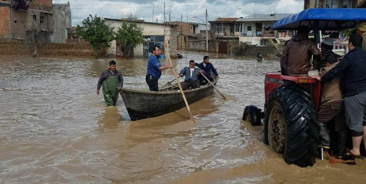 سرپرست استانداری گلستان: سیل در گلستان فروکش کرد