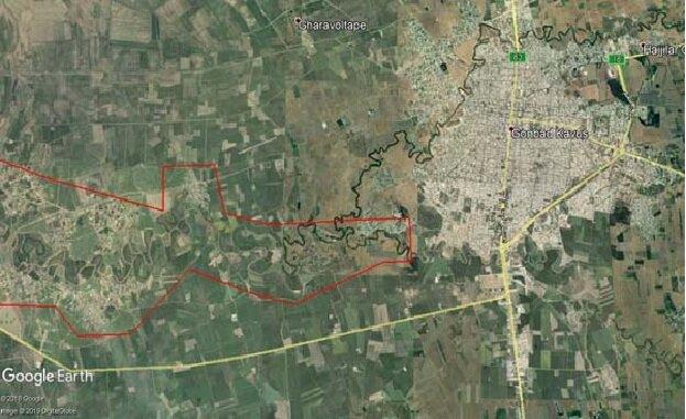 (تصاویر) نقشه مناطق سیلزده گلستان تهیه شد